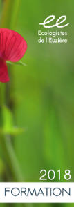 herault ecologistes euziere expertise naturaliste animation nature editions interpretation formation vie associative Lien vers: http://www.euziere.org/wakka.php?wiki=NosPlaquettes/download&file=catalogue2018_formation_ecran.pdf